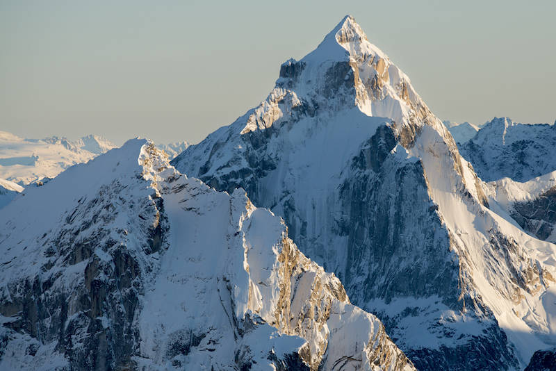 Peak 8305, The Citadel, Neacola Mountains