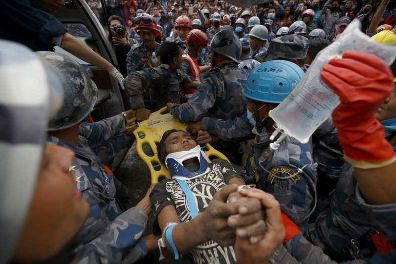 Nepal Earthquake Heroes, Survivors and Miracles